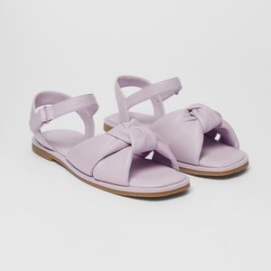 • Zara • Quilted Knot Sandals